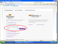 DownloadVisualC#ExpressEditionFreeDownload